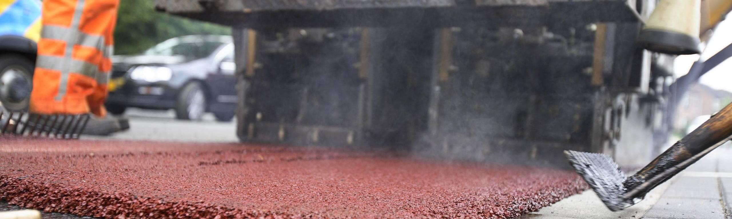 Reparatie en onderhoud aan asfalt