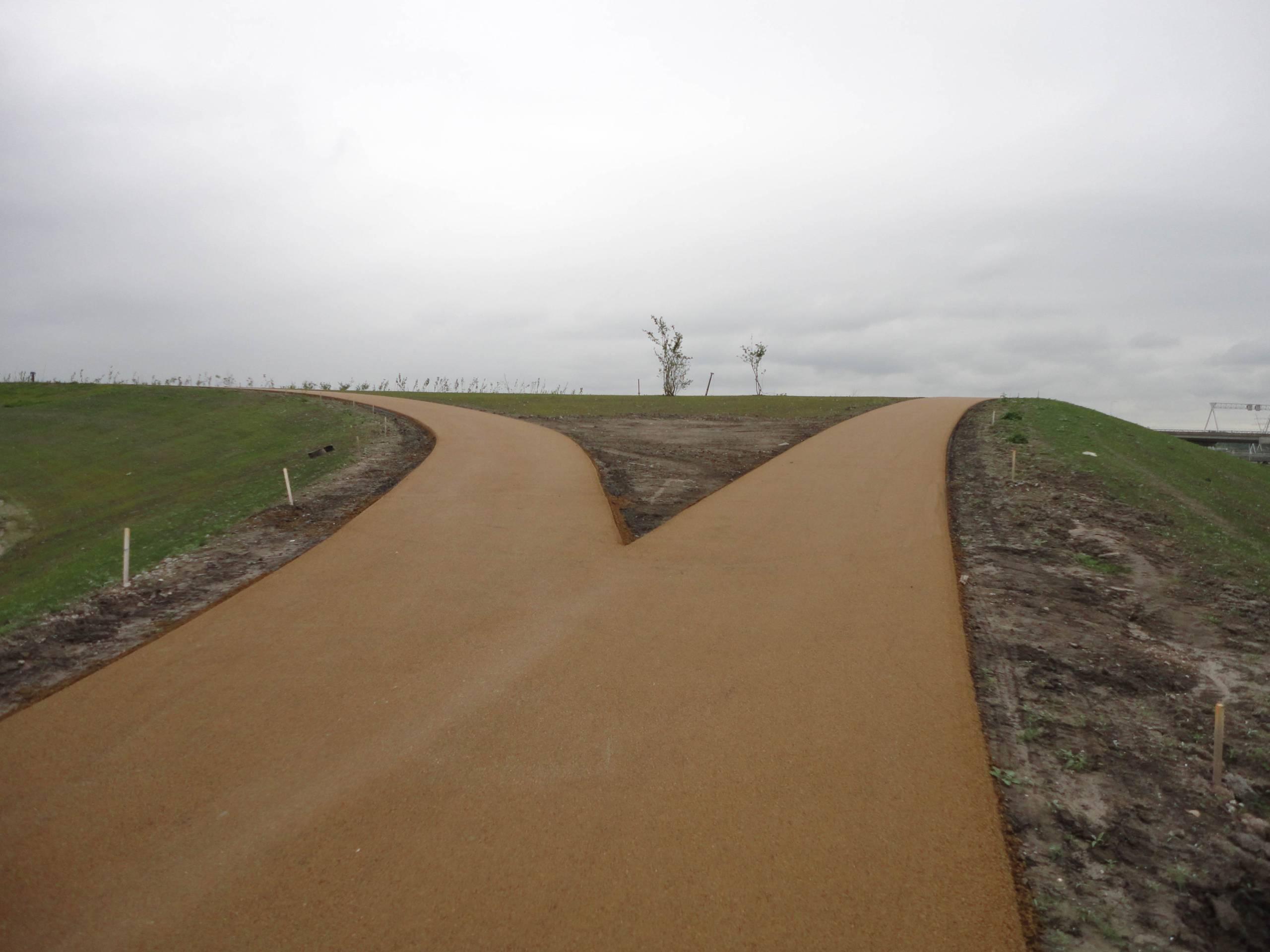 Geel asfalt Eindhoven