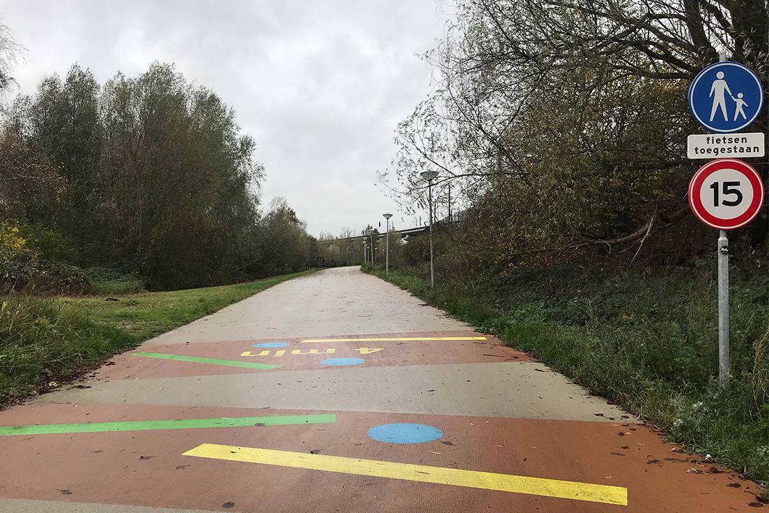 Amsterdam Arena Wit asfalt park