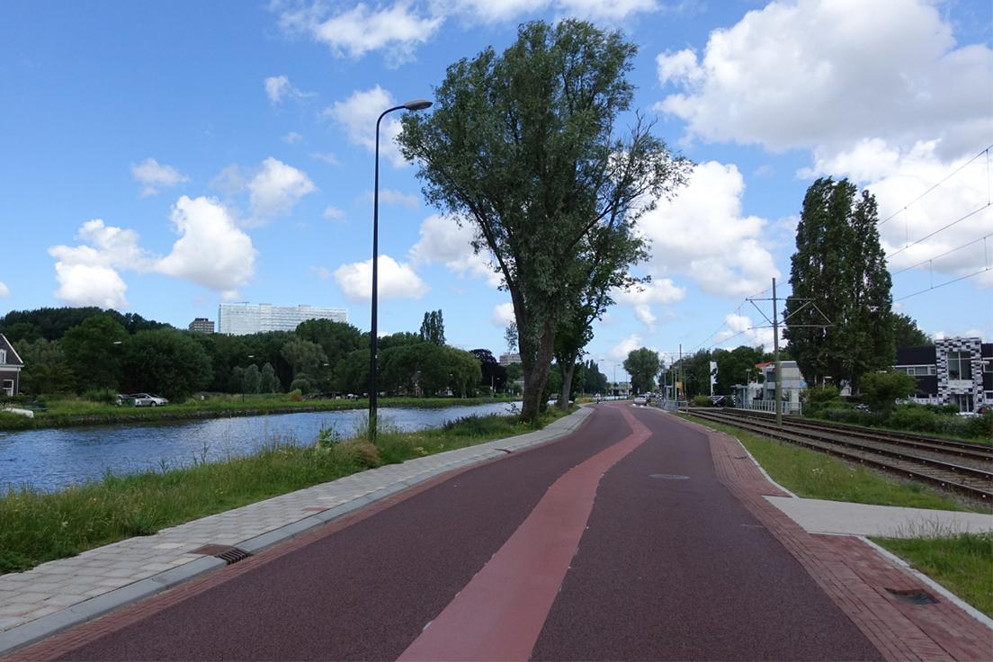 Veilige fietsstraat Delft