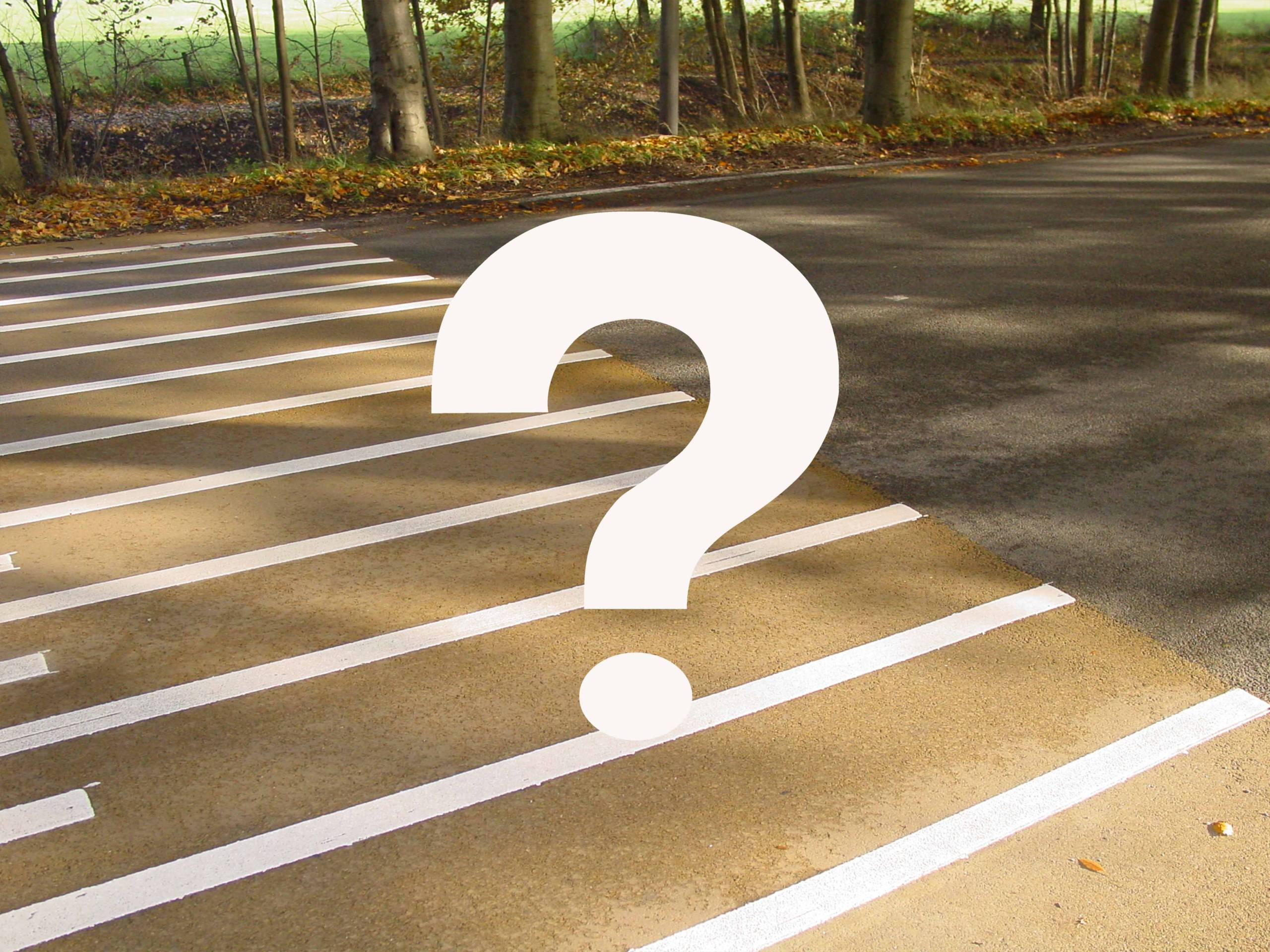 Vragen over kleur asfalt